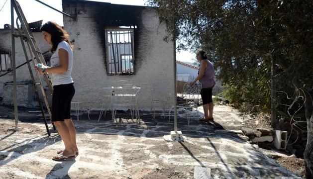 Las llamas atacan Grecia desde este sábado