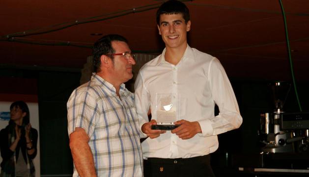 Ethan Chazlequer, alumno del IES Ibaialde (Burlada), fue el campeón barista de Navarra en 2011