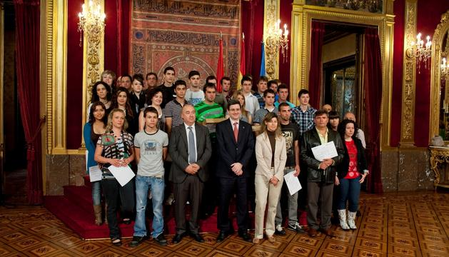 Los jóvenes premiados