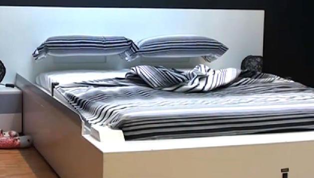 Un guipuzcoano inventa una cama que se hace sola - Cama que se hace sola ...