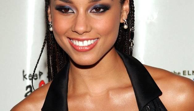 La cantante Alicia Keys