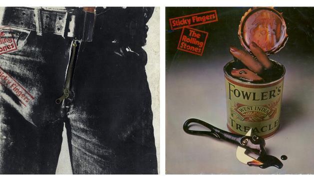 Imágenes de la portada censurada en España del disco