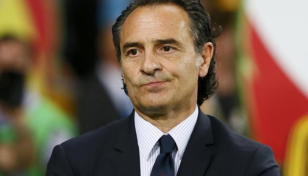 Prandelli, seleccionador de Italia