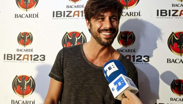 El actor Hugo Silva, que participa en una semana en el arranque del rodaje de la próxima película de Pedro Almodóvar