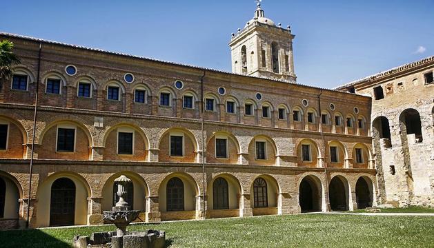 El claustro del monasterio de Irache