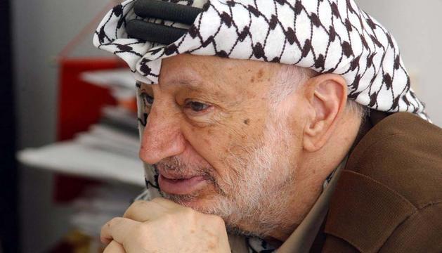 Imagen de archivo de Yasir Arafat