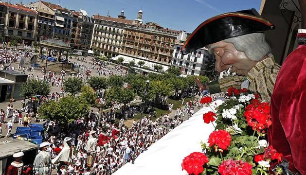 Los mejores momentos de los Sanfermines del pasado año desde la visión de los fotógrafos de Diario de Navarra,
