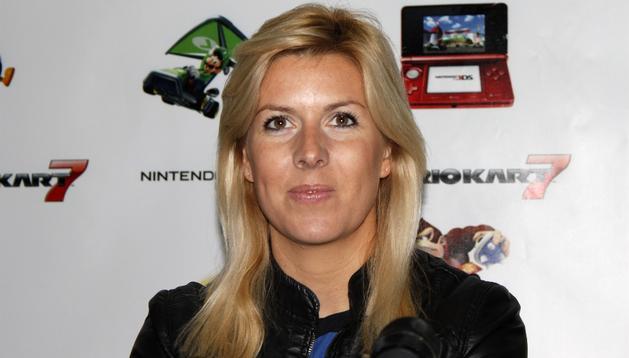 María de Villota, piloto de Fórmula Uno