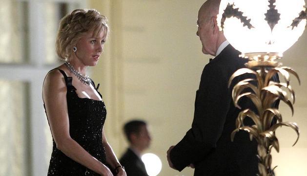 Fotograma del rodaje de la película sobre los dos últimos días de vida de Diana de Gales