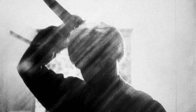 Imagen del asesino de Psicosis
