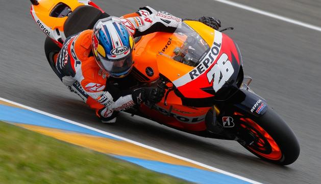 Dani Pedrosa ha logrado los mejores tiempos en el Gran Premio de Alemania