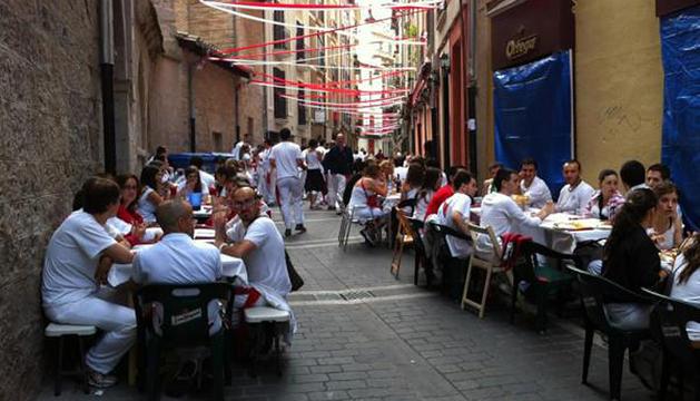 Almuerzos en Pamplona