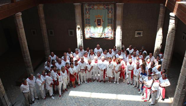 Personalidades presentes en la celebración del Palacio Condestable