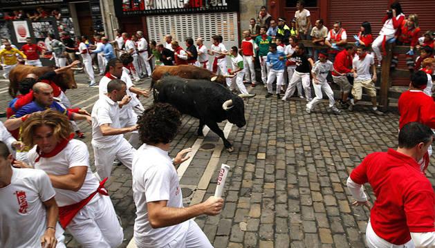 Cuarto encierro de San Fermín 2012