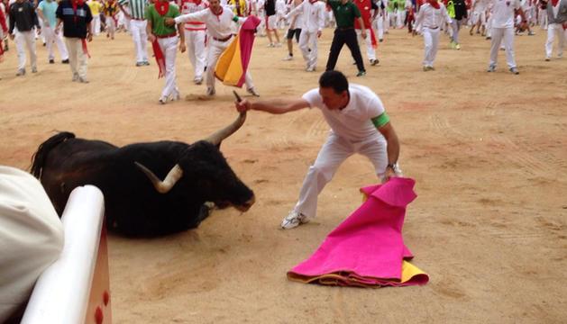 'Infundio', en la plaza de toros