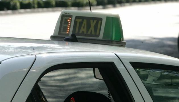 Huelga de los taxistas