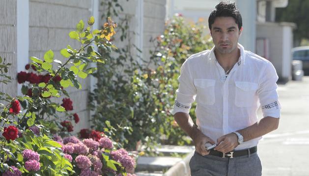 Javad Nekounam, en una imagen de la pasada temporada en Tajonar