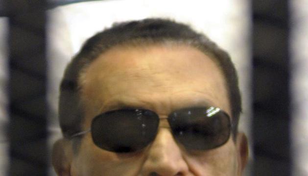Hosni Mubarak en una imagen de archivo del 2 de junio