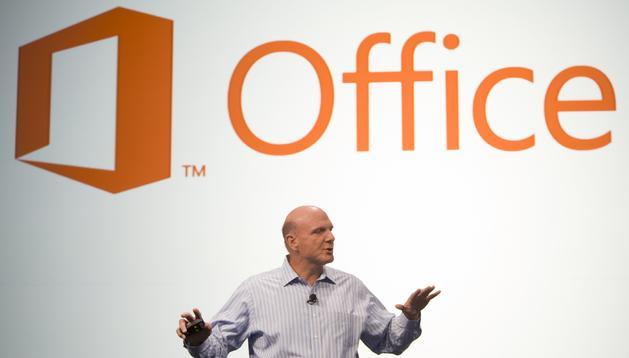 Presentación del nuevo producto de Microsoft, el Office 2013