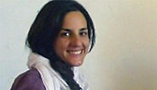 Fotografía de archivo de 23/10/2011 de la española Ainhoa Fernández de Rincón, secuestrada desde octubre.