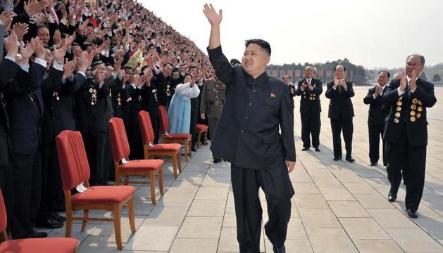 Kim Jong-un, en una imagen de archivo