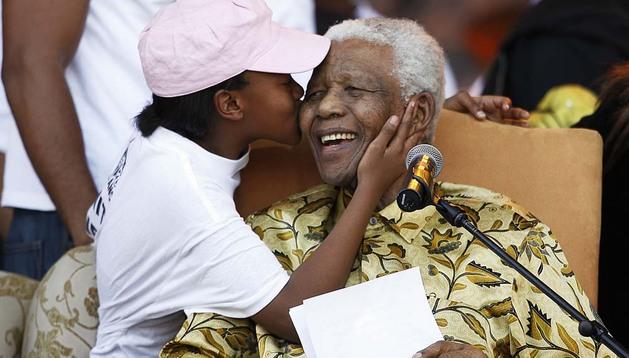 Nelson Mandela, en una imagen de 2008