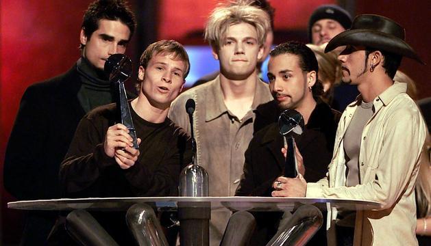 Imagen de archivo del grupo Backstreet Boys