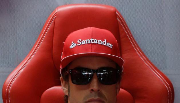 Fernando Alonso, piloto español de Ferrari