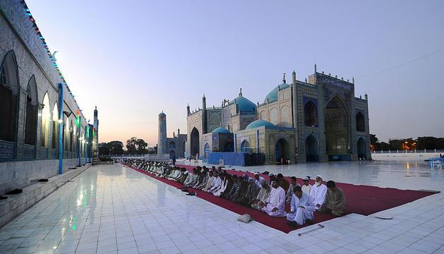 Afganistán ya celebra el Ramadán en sus mezquitas.