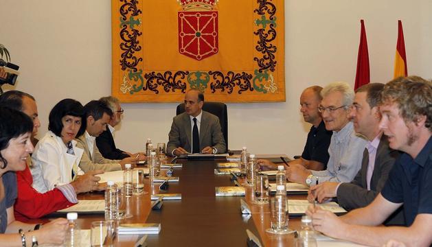 Reunión de la Mesa y Junta de Portavoces del Parlamento, el pasado viernes