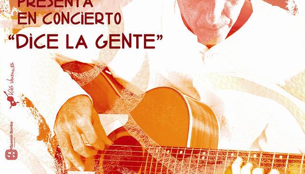 Cartel anunciadordel concierto de Kiko Veneno
