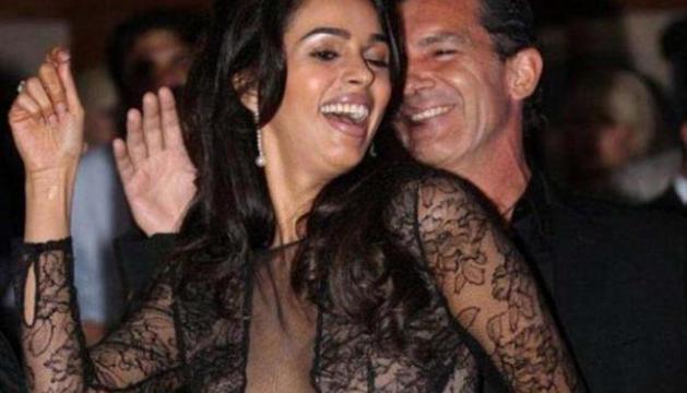 El baile de Mallika Sherawat y Antonio Banderas