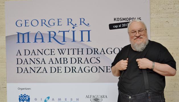 El escritor, productor y guionista George R.R. Martin, autor de 'Canción de hielo y fuego'
