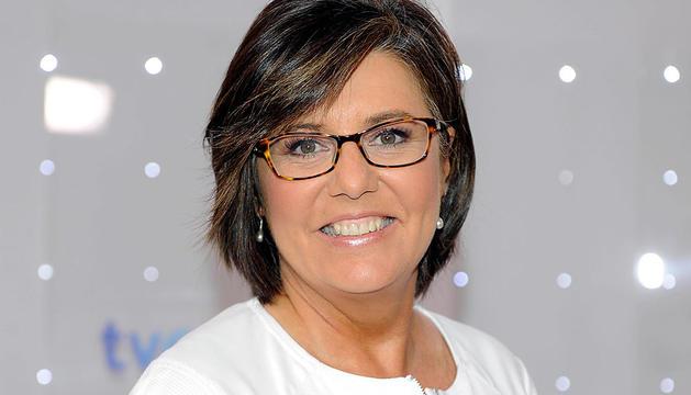 La periodista deportiva María Escario
