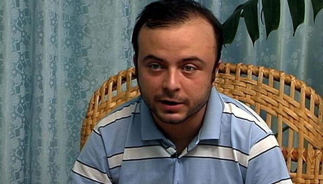 Ángel Carromero, en una imagen tomada de la televisión cubana