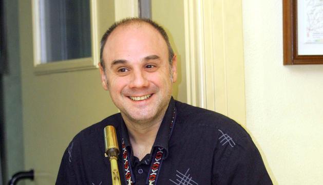 El saxofonista Mikel Andueza