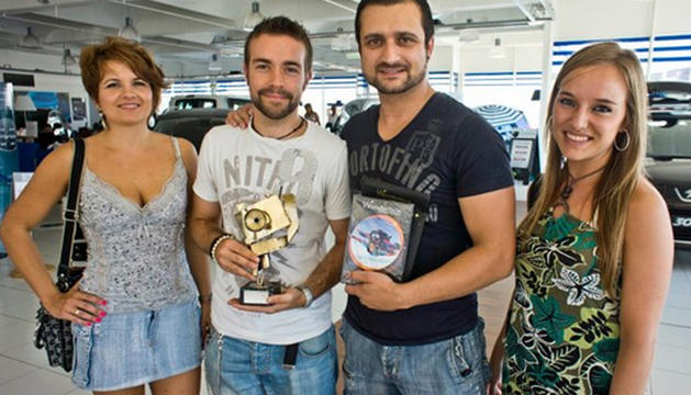 Alicia Garrote, Raúl Garcia, Ángel Hidalgo y Lydia Perez