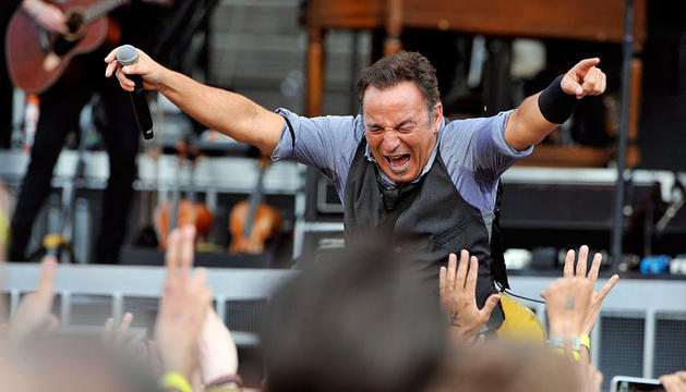 Springsteen, en Helskinki.