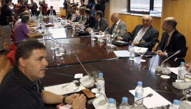 En la reunión del Plan del Carbón
