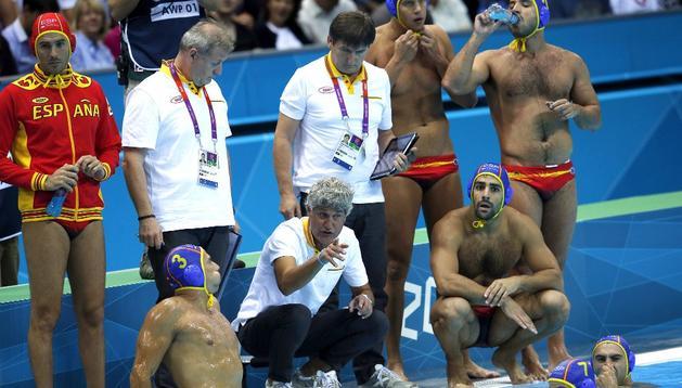 La selección española de waterpolo ha logrado la victoria este jueves ante Australia