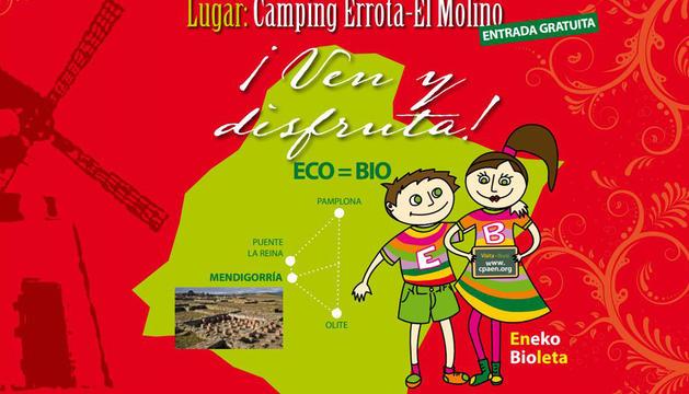Cartel de la II Feria Ecológica de Mendigorría