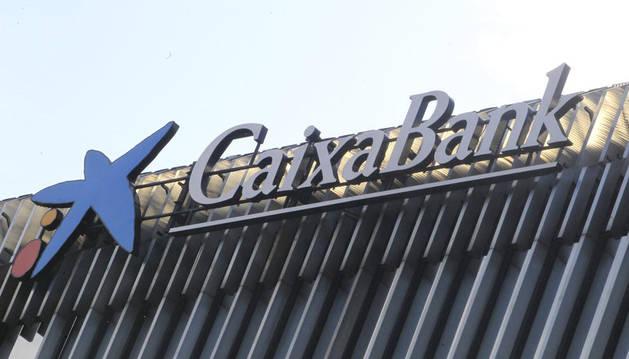 Una de las oficinas de Caixabank.