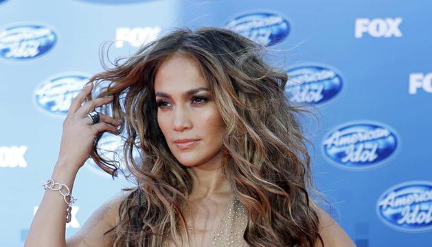 La cantante Jennifer López