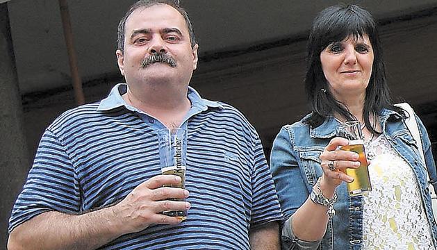 Antonio Vera Fernández y Paqui Marcos Moreno.