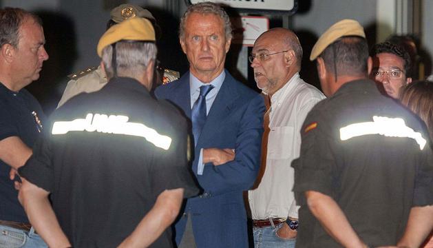 El ministro de Defensa, Pedro Morenés, en Cáceres.