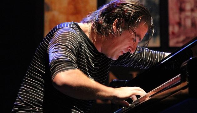 El pianista sevillano Dorantes en el Festival Internacional del Cante de las Minas