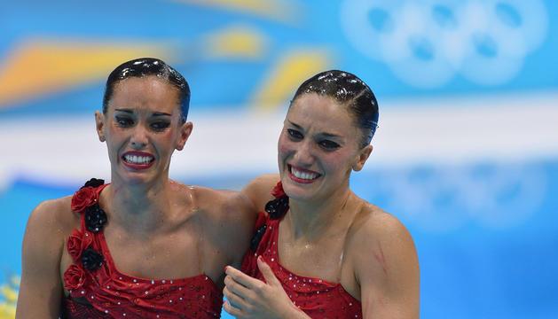 Las 'sirenas' españolas, emocionadas al conocer que quedaban por delante de China.