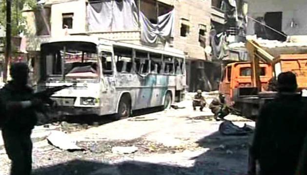 En Alepo, este miércoles