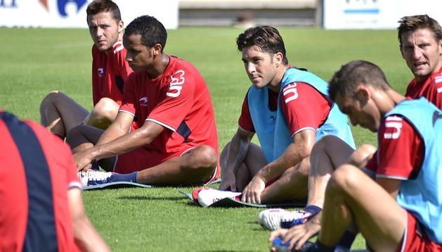 Osasuna se entrenó este jueves en Tajonar, y este viernes el equipo se desplaza hasta Cadiz, donde jugará el Trofeo Ramón de Carranza