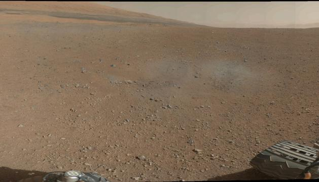 La imagen a color de Marte